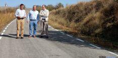 Antonio Pardo (izda,), Fidel Soria y Fernando Marín en la So-P-1214