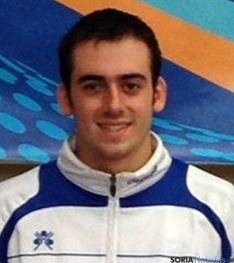 El jugador Alberto de Miguel.