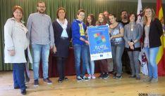 Recepción de los participantes del Comenius.