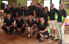 El equipo de Rioseco.