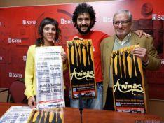 Inés Andrés, Jesús Bárez y Ernesto López