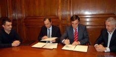 Rúbrica del convenio entre la Diputación y el CESEFOR. / Dip