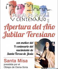 La apertura, en la iglesia del Carmen.