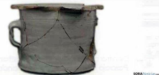 Una de las piezas en la muestra de cerámicas adnamantinas. / SN