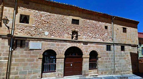 Convento de las Carmelitas Descalzas en Soria. / SN