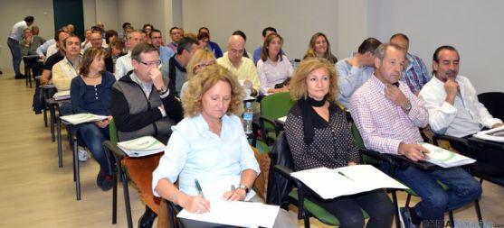 Delegados de CSI-F en la jornada regional en Valladolid.
