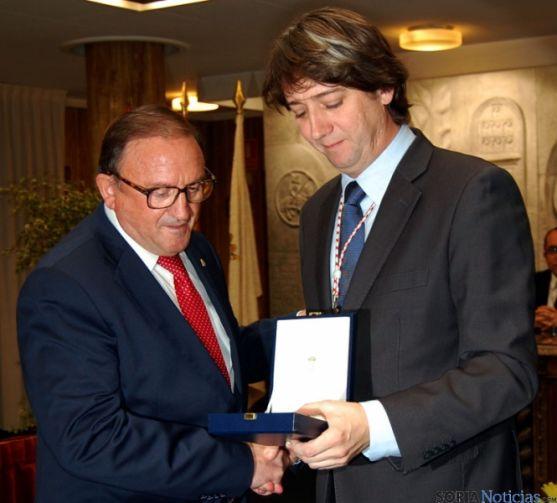 Rubio (izda.) y Mínguez este martes. / Ayto.