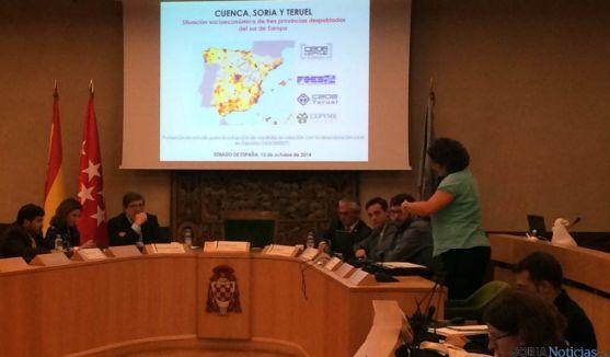 Un momento de la ponencia en la Universidad de Alcalá.