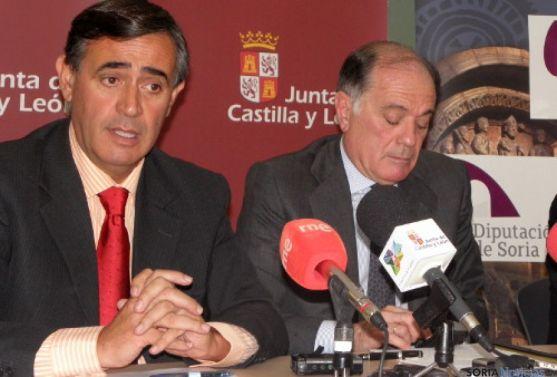 Antonio Pardo y Tomás Villanueva