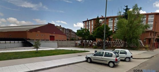 Antiguo parque de maquinaria de la Diputación. / GM