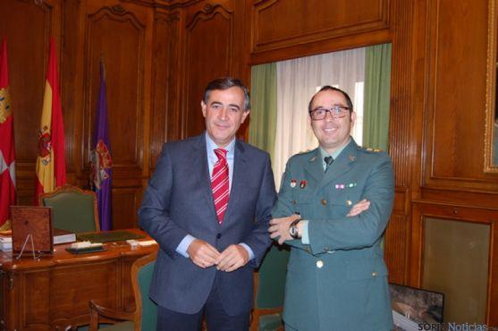 Pardo y el teniente coronel