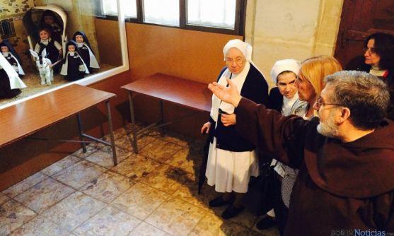 La muestra, en la iglesia del Carmen. / Ayto