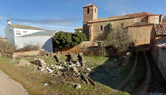 Vista parcial de Torrubia de Soria.