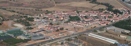 Vista aérea de Camaretas