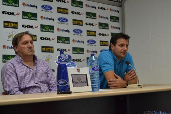 Eduardo Rubio y César Palacios