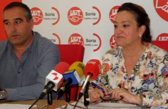 Carmen Ámez en la rueda de prensa