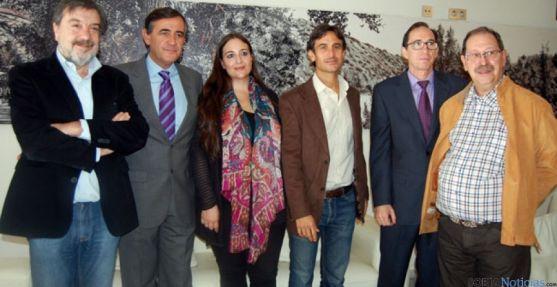 Jurado con Antonio Pardo y Gustavo Martínez