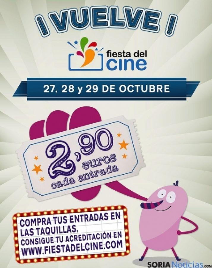 Este fin de semana, Fiesta del Cine.