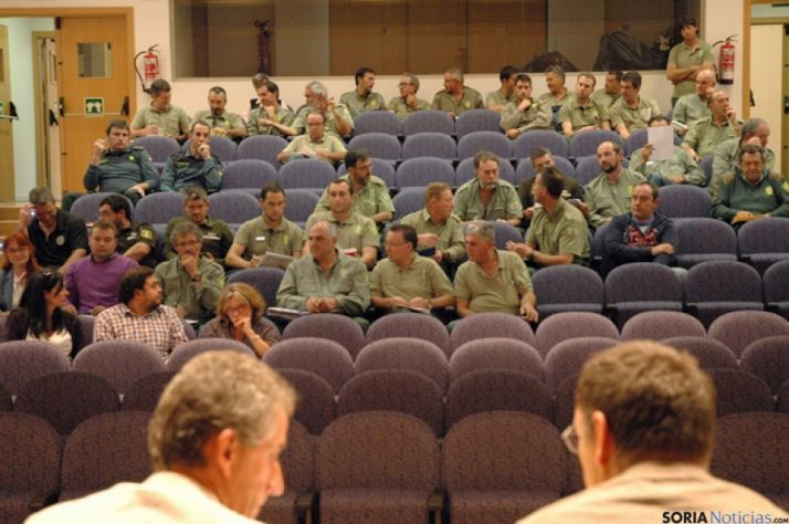 Reunión para la coordinación de la campaña