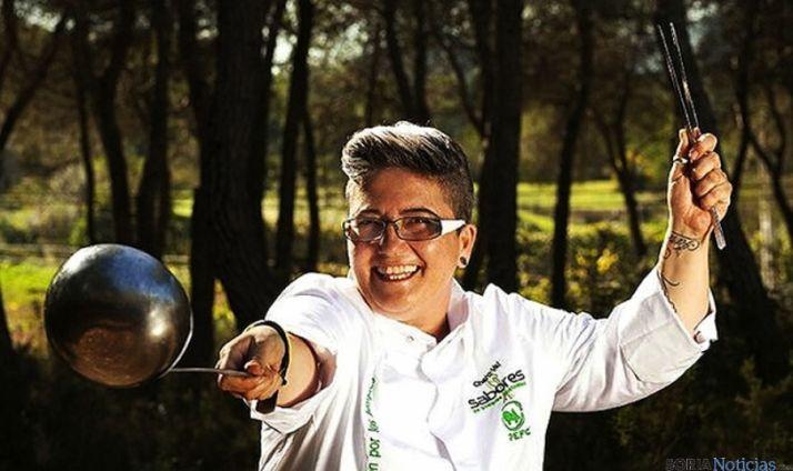 La chef agredana Charo Val. / Ch. V.