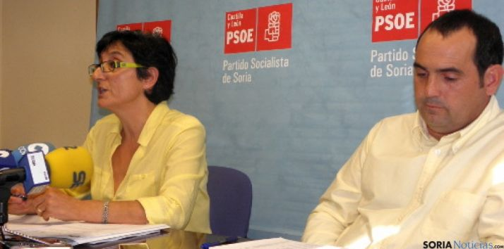 Pilar Delgado y Juan Valero