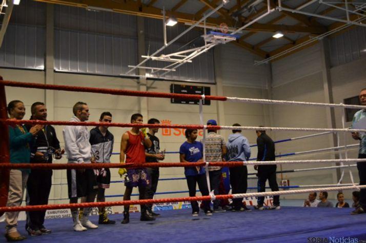 Nuevo éxito en la velada de boxeo por San Saturio