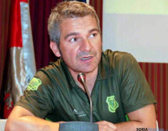Luis Díaz, presidente de los agentes.