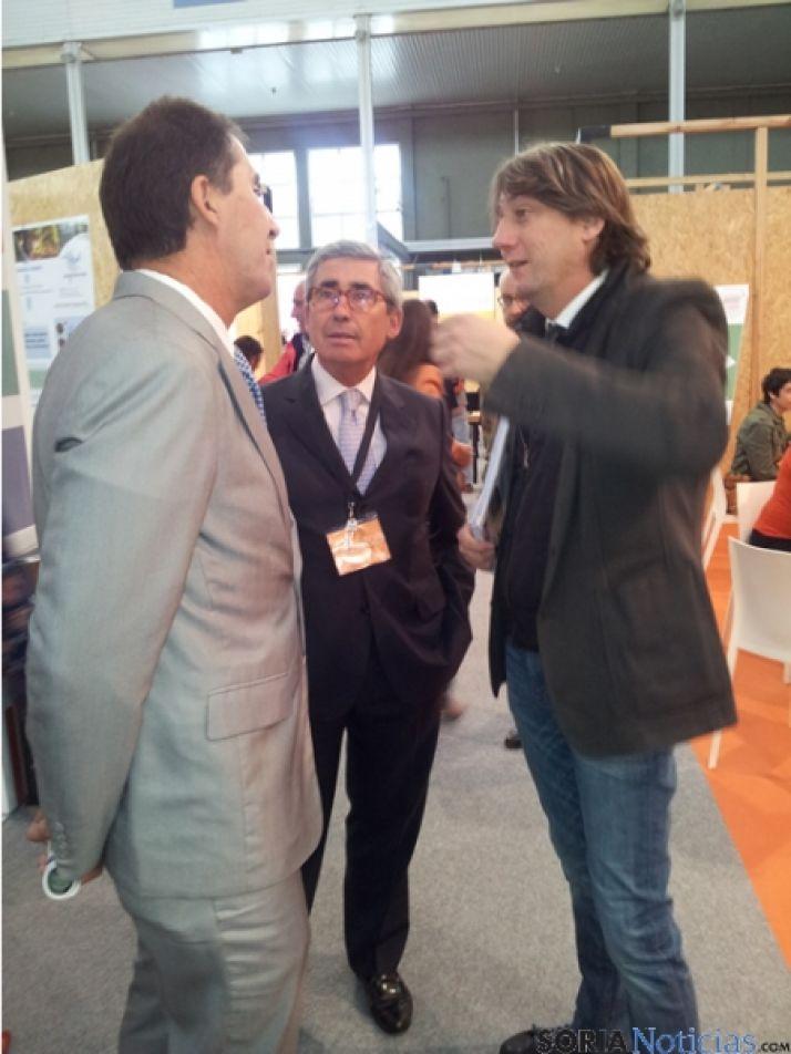 Alberto Gómez de REBI, Antonio Rubio de COFELY y Carlos Martínez