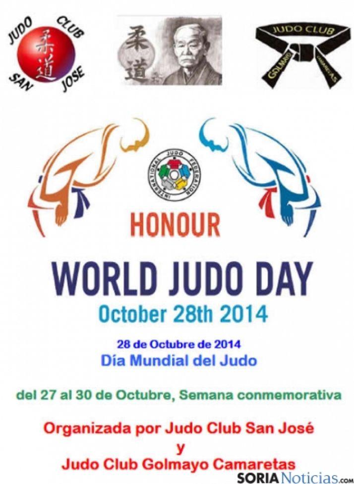 Cartel Día Mundial del Judo
