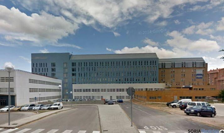 Vista parcial del hospital de Santa Bárbara. / SN
