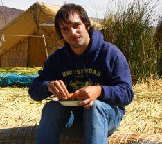 Antonio de Blas, en Perú.