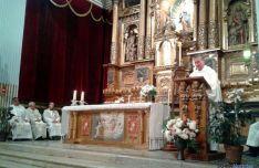 Un momento de la eucaristía. / SN