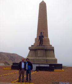 Antonio de Blas, en su estancia en Perú.