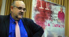 El sevretario de Amnistía Internacional en España, Esteban Beltrán este miércoles. / SN