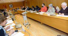 Consejo de Cooperación al Desarrollo. Eduardo Lallana, a la derecha. / Jta.