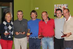 Ganadores del Torneo de Golf en Pedrajas