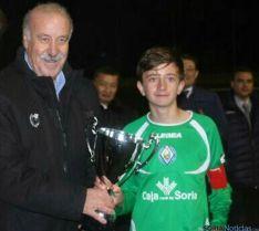 Del Bosque con el campeón, el San José