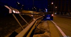 La señalización tras el accidente. / SN