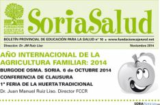 Portada del Soria Saludable.