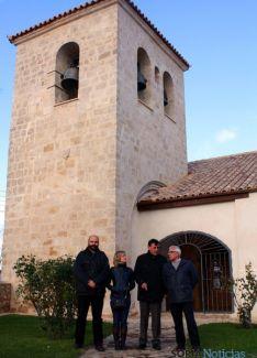 Visita institucional a Viana. / Dip.