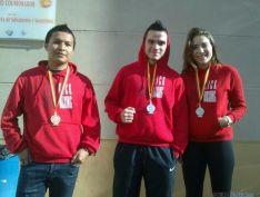 Los sorianos con sus medallas