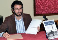 Miguel de Lózar, en la conferencia del Casino
