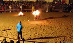 El Toro Jubilo iluminó la noche de Medinaceli