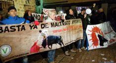 Protesta de os antitaurinos