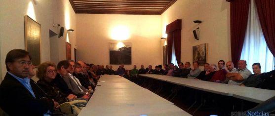 Reunión de alcaldes en Ágreda este sábado. / SN