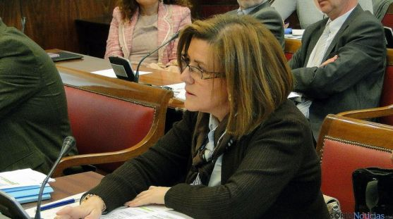 Marimar Angulo, en la Comisión de Hacienda del Senado.