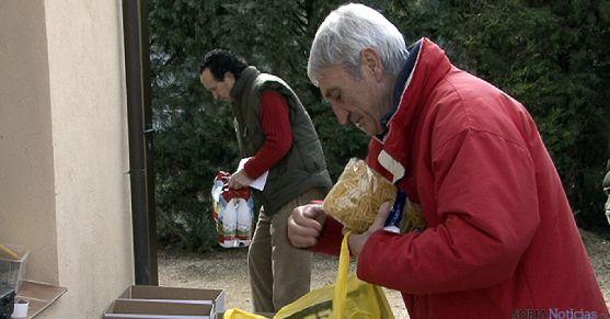 Volunarios del Banco de Alimentos de Soria. / SN m-Audiovisuales