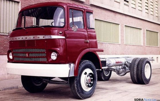 Un camión Azor, de Barreiros. / FEB