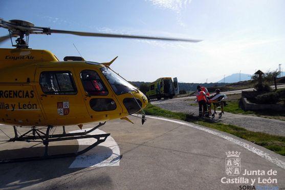 Imagen de la evacuación. / Junta CyL