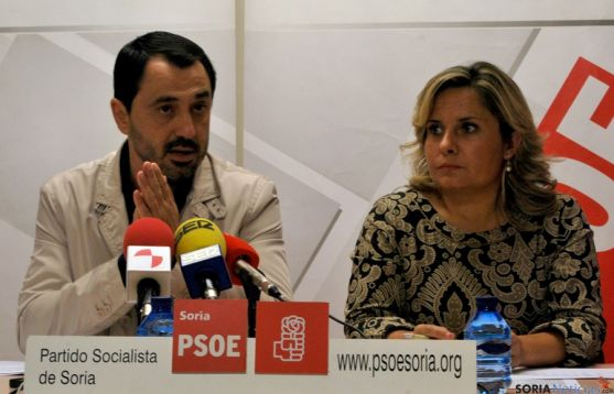 Esther Pérez (dcha.) y Javier Muñoz. / SN